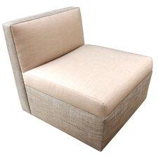 Modular Armless Side Chair With Cushion