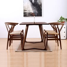 Modern V 5 Piece Dining Set