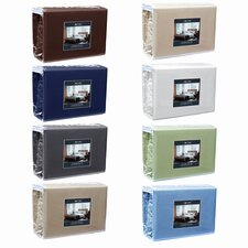 6 Piece Comfort Deep Pocket Sheet Set