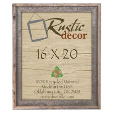Reclaimed Barn Wood Signature Wall Picture Frame
