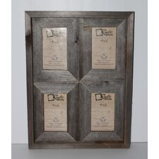 Rustic Reclaimed Barn Wood Collage Picture Frame