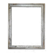 Barn Wood Reclaimed Wood Signature Open Picture Frame