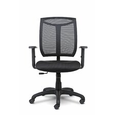 Bria Mid-Back Mesh Desk Chair with Arms
