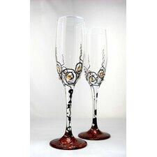 Galaxsea 6 oz. Flute Glass (Set of 2)