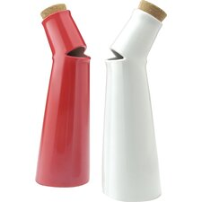 Salad Song Vinegar and Oil Cruet Set (Set of 2)
