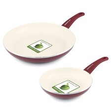 Soft Grip 2-Piece Non-Stick Frying Pan Set