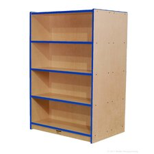 "Double-Sided 60"" Bookcase"
