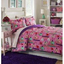 Girls Rule 3 Piece Comforter Set