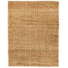 Hoskins Hand-Woven Brown/Tan Area Rug