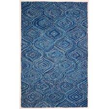 Carpenter Hand-Tufted Blue Area Rug