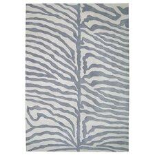 Nesika Hand-Tufted Gray/Ivory Area Rug