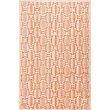 Minerva Orange Area Rug