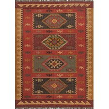 Tyler Hand-Woven Red Area Rug