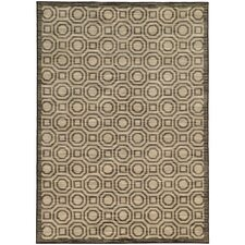 Jensen Geometric Charcoal/Grey Area Rug