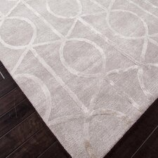 Hand-Tufted Gray Area Rug