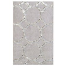 Murmansk Hand-Tufted Gray/Silver Area Rug