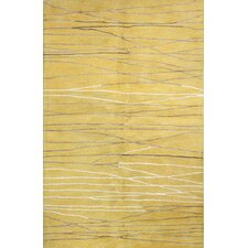 Ormara Hand-Tufted Gold Area Rug