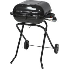 "18.5"" Portable Propane Gas Grill with Folding Legs"