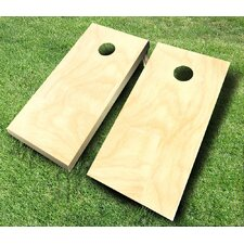 10 Piece Plain Cornhole Set