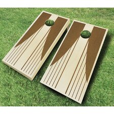 Swooping Stripes 10 Piece Cornhole Set
