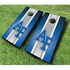 NCAA 10 Piece Striped Cornhole Set