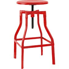 Machinist Adjustable Height Swivel Bar Stool