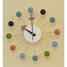 """Nelson Inspired 13"""" Ball Clock"""