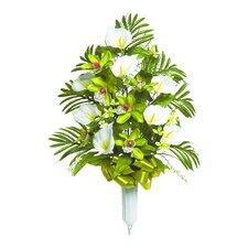 Signature Mixed Orchid Floral Vase Arrangement
