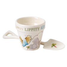 Peter Rabbit Egg Cup and Spoon Set