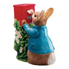 Peter Rabbit Posting a Letter Figure