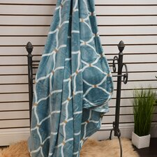 Marquise Soft Plush Throw Blanket