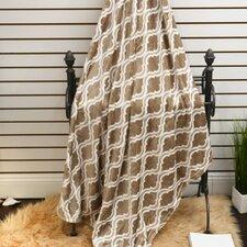 Geometric Plush Soft Throw Blanket