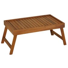 Coco Bed Tray Table in Solid Teak Wood
