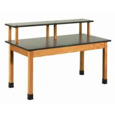 Fixed Height Riser Table