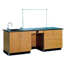 8' Wide Instructor's Desk