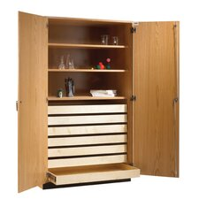 "Rock and Paper Storage 84"" Standard Bookcase"