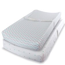 Jersey Knit Cotton Changing Pad Cover (Set of 2)