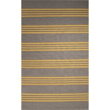 Winchester Hand-Woven Gray/Yellow Area Rug