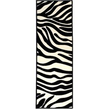 Martina White/Black Area Rug