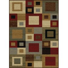 Litchford Red/Brown Area Rug