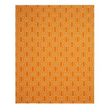 Allison Orange Area Rug