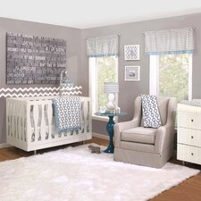 Henri 4 Piece Crib Bedding Set