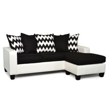 Laurie Reversible Chaise Sectional