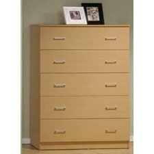 Jamison 5 Drawer Jumbo Chest