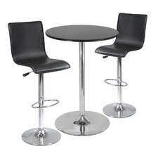 Colerain 3 Piece Pub Table Set