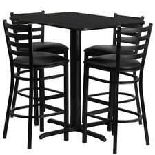Rylee 5 Piece Pub Table Set