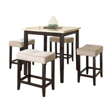 Rutherford 5 Piece Counter Height Dining Set