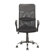 Height-Back Mesh Executive Chair with Arms