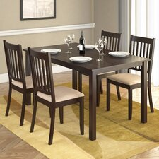 Casual Dining Table in Rich Cappuccino
