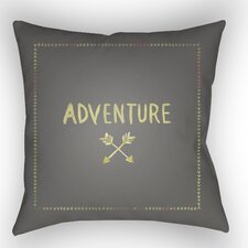 Square Shaped Accent Indoor/Outdoor Throw Pillow